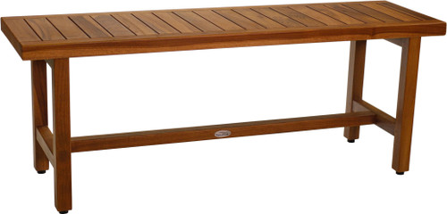"48"" Spa Teak Shower Bench"