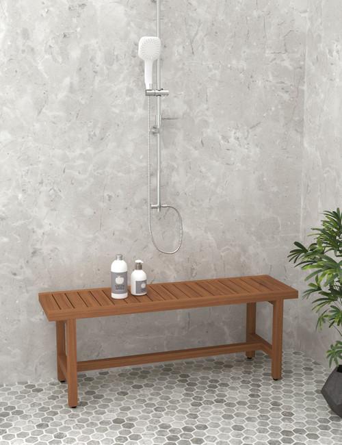 "48"" Spa™ Grand Estate Teak Shower Bench"