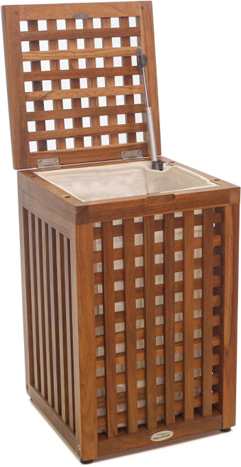 Grate™ Medium Square Teak Hamper