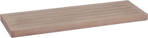 "30"" Moa-Elite™ Gray Teak Flat Wall Shelf"