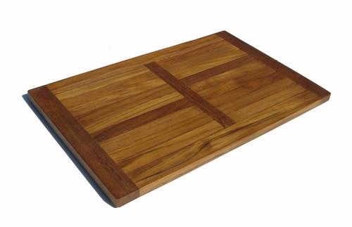 teak accessories - shower mat