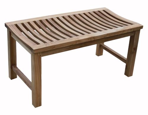 """36"""" Aqua Stratus Teak Indoor & Outdoor Bench"""