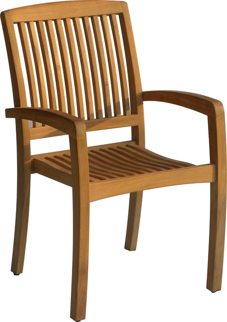 AquaLINEAR™ Stacking Arm Chair