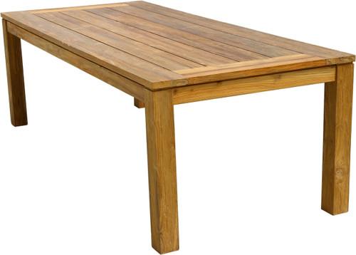 "AquaCHATEAU™ 94.5"" Reclaimed Teak Garden Table"