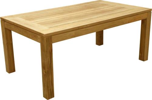 "AquaCHATEAU™ 69"" Reclaimed Teak Garden Table"