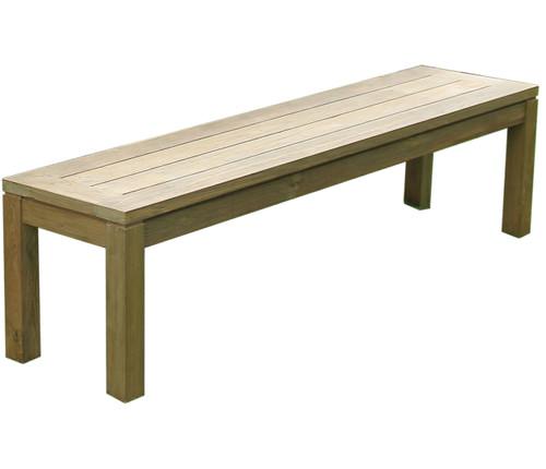 "AquaCHATEAU™ 59"" Backless Bench"