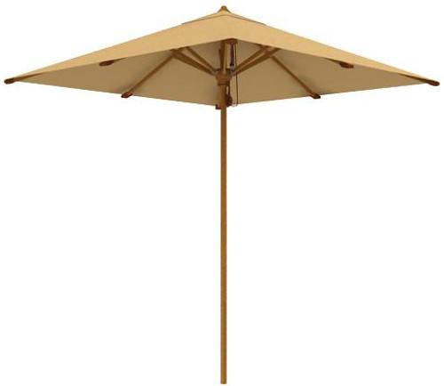 """teak outdoor furniture -  Aqua Shade 78.75"""" Square Parasol (2902)"""