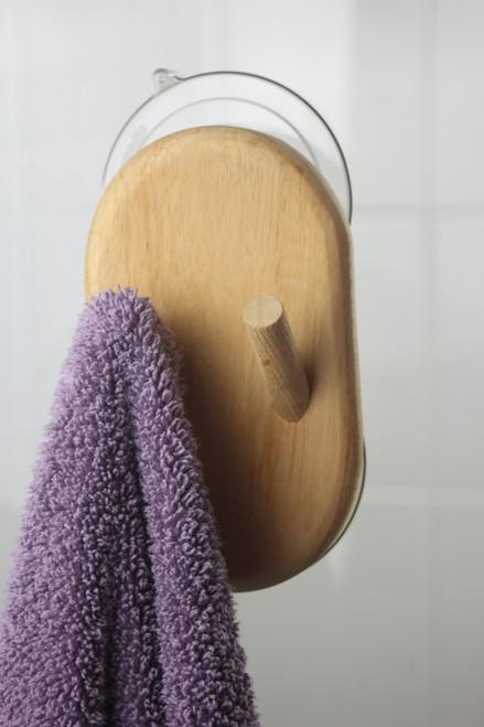 Moa™ Glass Suction Hook & Wall Mount