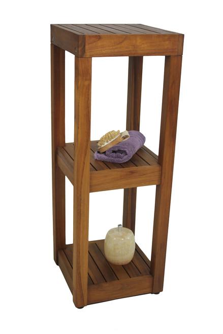 The Original Sula™ Square Three -Tier Bath Stand