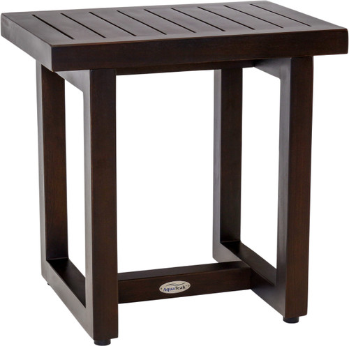 """18"""" Wide Spa™ Mocha Teak Side Table"""
