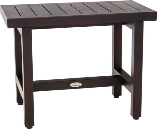 "24"" Spa™ Lotus Mocha Teak Side Table"