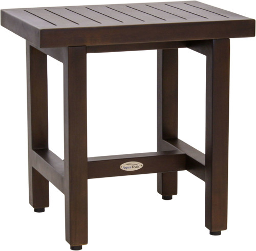 "18"" Spa™ Lotus Mocha Teak Side Table"