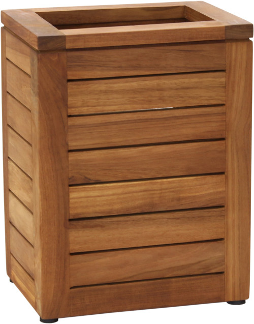 Spa™ Teak Waste Basket