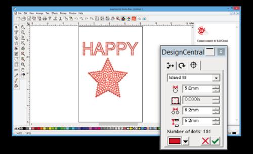 Rhinestone function add-on for Graphtec Pro Studio