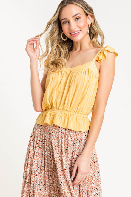 Better Days Cropped Top