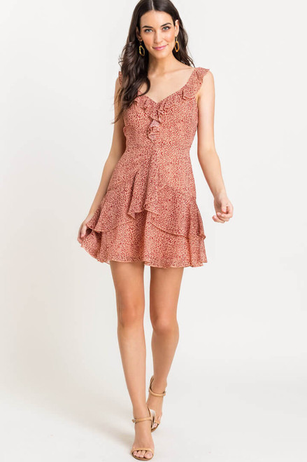 Brooklyn Sleevles Mini Dress