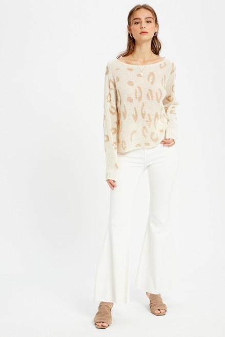Wild Things Cropped Sweater Top