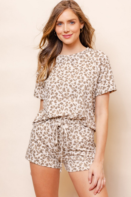 Clara Leopard Print Top