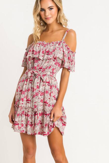 Ansley Cold Shoulder Dress