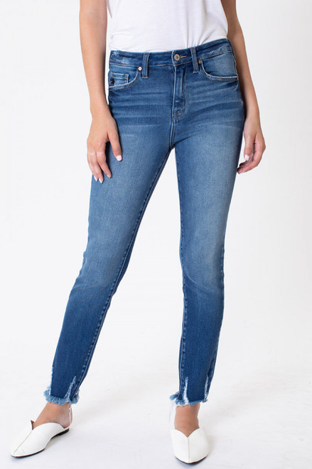 Vickie High Rise Ankle Skinny Jeans
