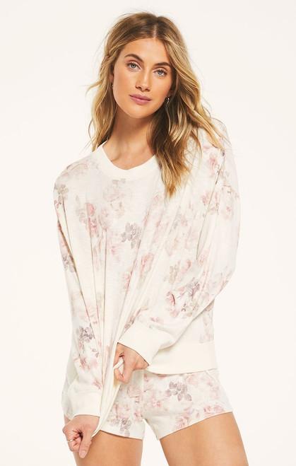 Elle Floral Pullover