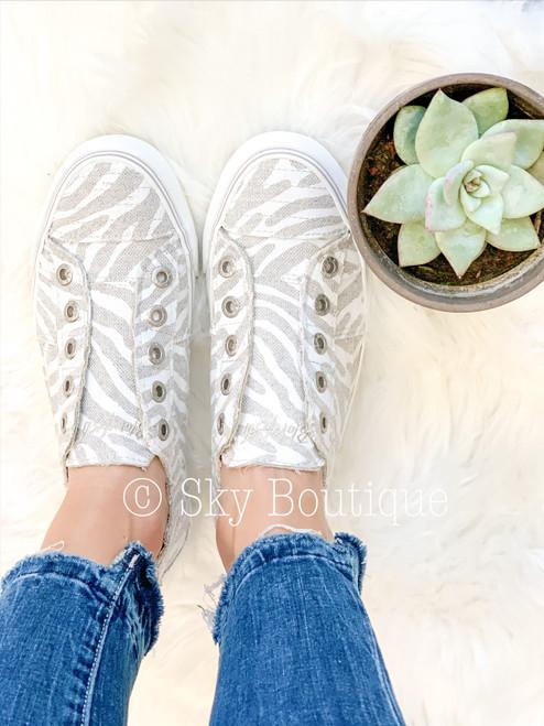 Play Zebra Sneakers