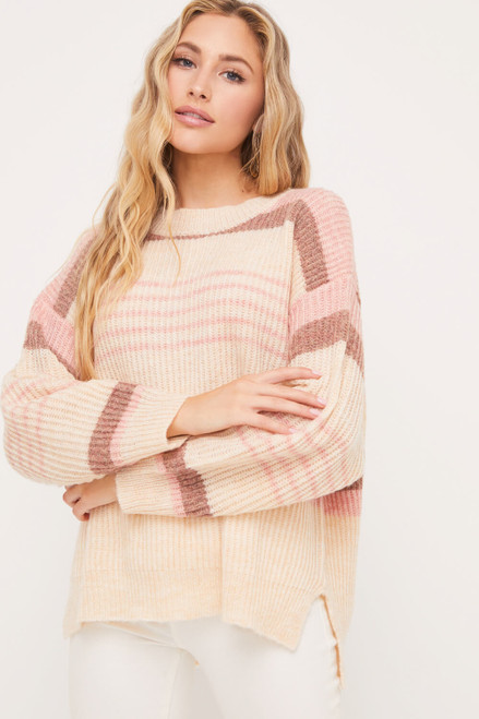 Vicki Crew Neck Sweater