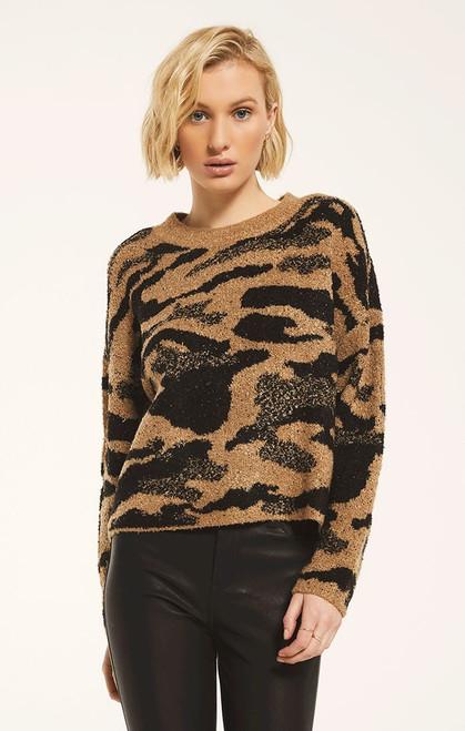 Bodrum Animal Print Sweater