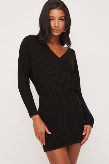 Anastasia Dolman Sleeves Dress