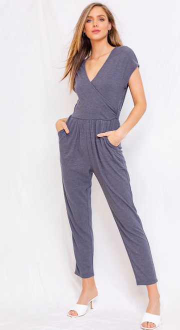 Amarie Shirred Waist Jumpsuit