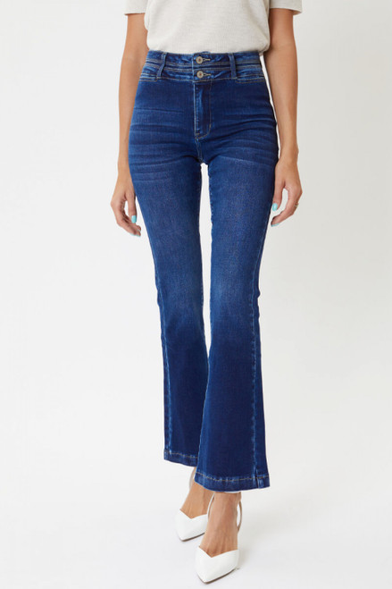 Adriana High Rise Flare Jeans
