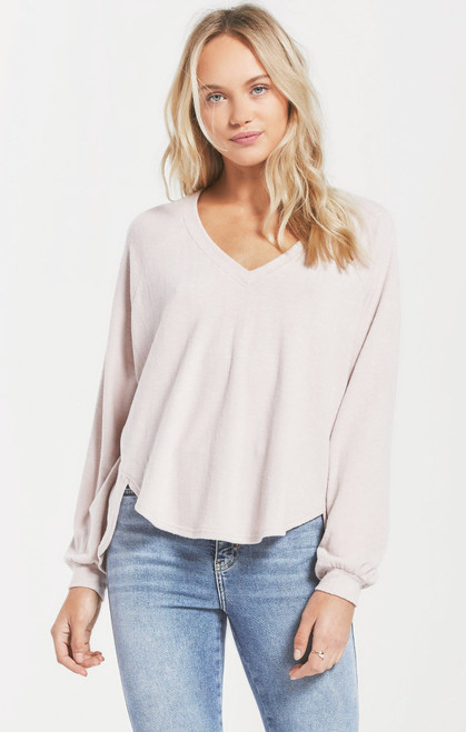 Plira Slub Sweater Top
