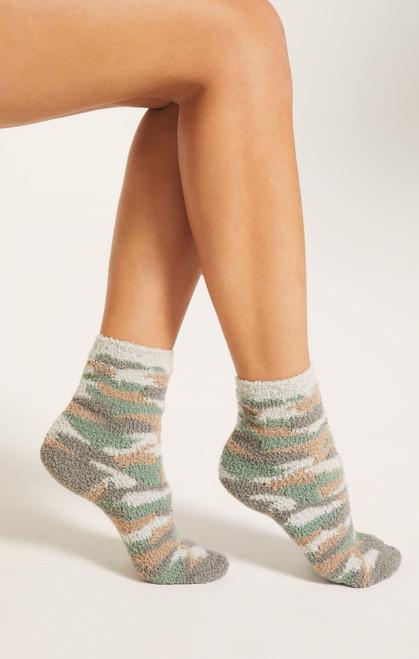 Camo Plush Socks