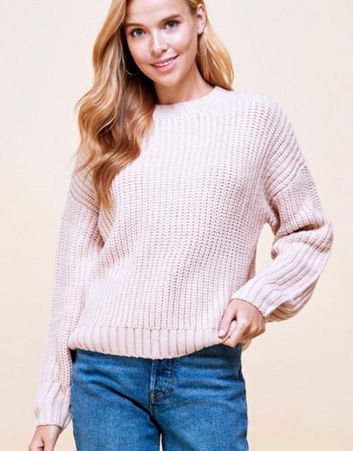 Aurora Chunky Knit Seater