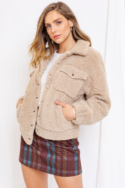 Gina Teddy Bear Jacket
