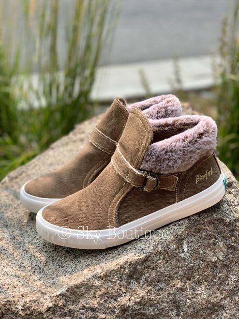 Mint Fur Sneaker