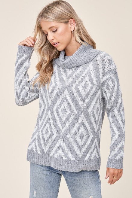 Merry Fair Isle Sweater Top