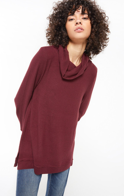 Ali Cowl Neck Sweater Top