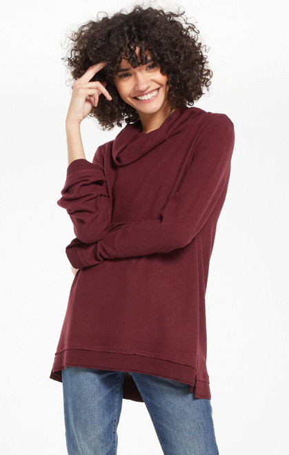 Ali Cowl Neck Sweater Top