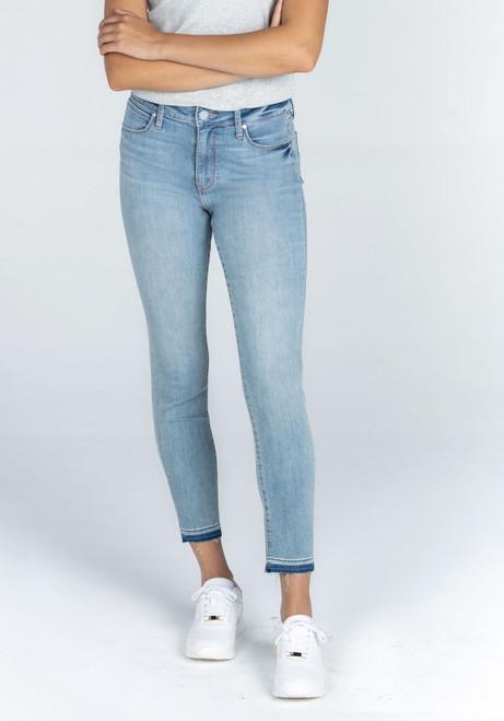 Heather Hi Rise Skinny Jeans