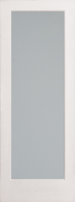 Diffused White Laminate French Door