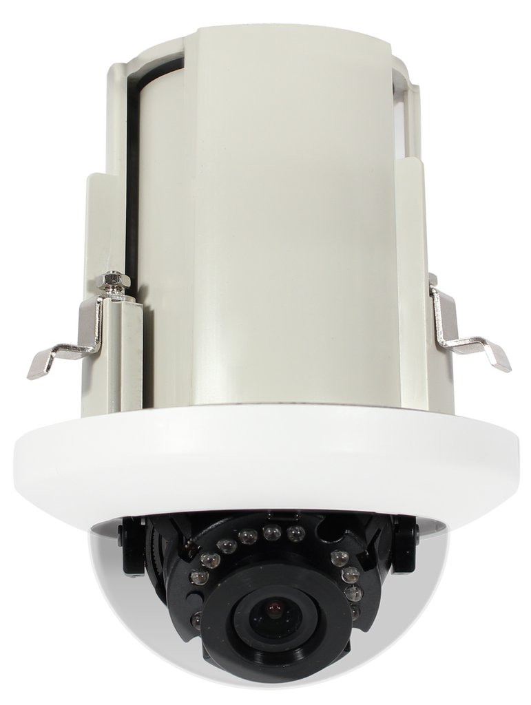 HD6012-RW 2MP IR In-Ceiling IP Dome Camera with WDR - BizX
