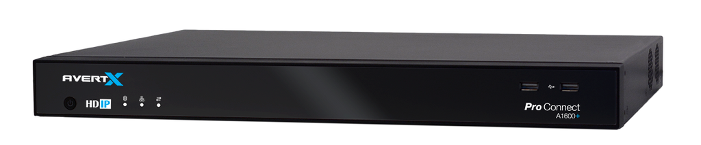 Avertx A800+ ProConnect 8 Channel HD+ Network Video Recorder