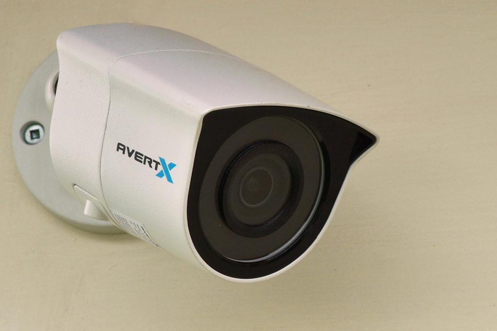 HD438 4K IR Indoor/Outdoor Mini IP Bullet Camera with True WDR