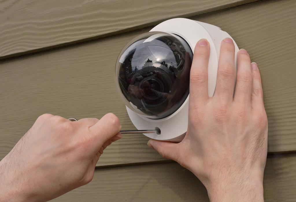 HD838 4K IR Autofocus Zoom Indoor/Outdoor IP Dome Camera with Smart Analytics