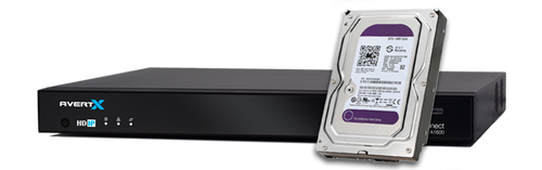 12TB ProConnect Hard Drive Upgrade - AvertX Factory Install