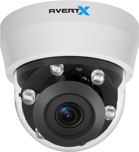 HD810 Rev B 4MP Autofocus Night Vision Indoor/Outdoor IP Dome Camera
