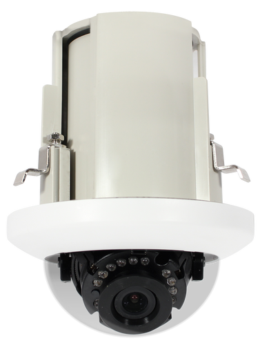 HD6012-RW 2MP IR In-Ceiling IP Dome Camera with WDR