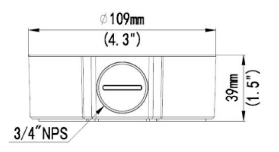 AC-320JB Dimensions