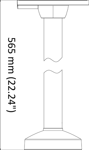 AC-830PM Dimensions